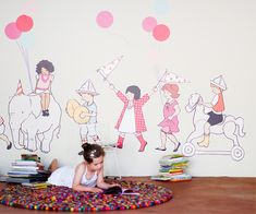 On Parade wall decals. So cute for a nursery!