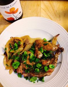 The Lush Chef: Braised Chicken with Fennel and Fava Beans