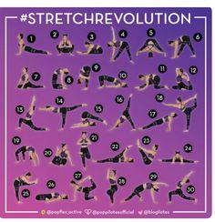 30 days  30 stretches to splits journeytosplits