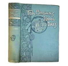 Find many great new & used options and get the best deals for 1890 Tom Brown's School Days by Thomas Hughes Antique Popular Victorian Fiction  at the best online prices at eBay! Free shipping for many products! Victorian Books, Antique Books, Thomas Hughes, School Days, Toms, Fiction, Popular, Free Shipping, History