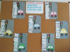 Transportation Crafts, Traffic Light, School Projects, Arts And Crafts, Education, Handmade, Preschool, Teeth, Activities