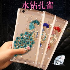 SK Peacock Bling Case for Micromax Canvas juice 4 Q465 #Affiliate