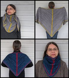 Ravelry: Geometry Shawl pattern by Nina Machlin Dayton