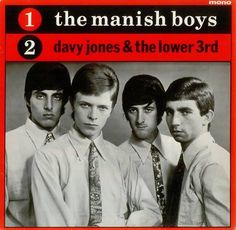 Davy Jones DavidBowie & The Manish Boys  1965