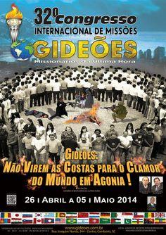 Vai começar! Gideões Missionários da Última Hora chega a sua 32ª edição