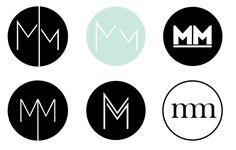 Self Branding: The Process Initials Logo, Monogram Logo, Self Branding, Branding Design, Corporate Branding, Logo Branding, Logo Marin, Rundes Logo, Musician Logo
