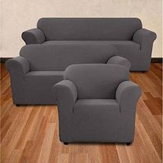 For a new look with great protection, this Sure Fit stretch furniture slipcover is the perfect solution. Furniture, Cool Couches, Office Furniture Modern, Sofa Inspiration, Couch Covers, Contemporary Sofa, Best Sofa, Bedroom Sofa, Best Couch Covers