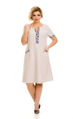 Платье NOVITA 593 св.беж