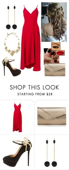 """""""Elegance is beauty"""" by paoladouka on Polyvore featuring Victoria Beckham, Charlotte Olympia, Isabel Marant and Oscar de la Renta"""