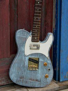Reclaimed Wood Guitars. - Telecaster Guitar Forum