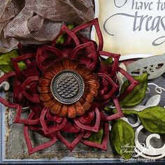 Sherry here today and I have a square card to share using Quietfire Design's new set, Always Be My Friend. Anemone Flower, Flowers, Square Card, Distress Ink, Craft Stick Crafts, Cardmaking, Scrapbook, Projects, Cards