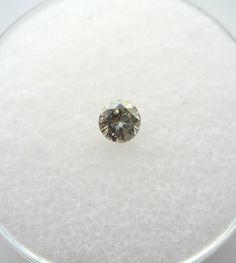 0.19 carats Round Champagne DIAMOND 3.6mm Loose Genuine Diamond