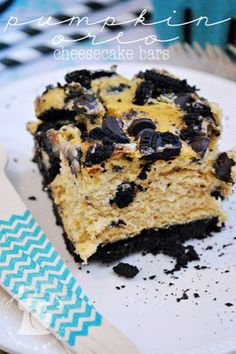 88. Pumpkin Oreo Cheesecake Bars | Community Post: 101 Pumpkin Recipes From Drinks To Dessert