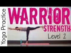30 Minute Power Yoga | Warrior Strength Level 2 - YouTube