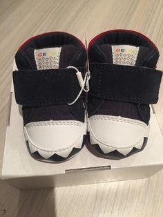 92350b8b8279 Geox Baby Boys Navy Blue Shoes UK1.5 Euro 17.5
