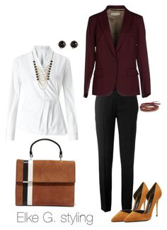 """""""Work it Wednesday!"""" by styletrader on Polyvore featuring Chloé, John Lewis, Alberto Biani, Lane Bryant, Chan Luu, Irene Neuwirth, Tomasini and Tom Ford"""