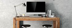 ¿Cómo decorar mi casa? | Comex Office Desk, Cabo, Furniture, Home Decor, Ideas, Interior Paint, House Decorations, Paintings, Color Trends