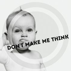 Don't make me think Good Things, Children, Face, Tips, How To Make, Young Children, Boys, Kids, The Face