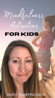 Mindfulness For Kids, Mindfulness Activities, Mindfulness Quotes, Parenting Quotes, Kids And Parenting, Parenting Hacks, Social Emotional Learning, Social Skills, Emotional Development