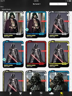 """Star Wars Card Trader app  Only because I am a Star Wars sucker. I've been playing on this app for months now and just don't like it overall. I don't like the credits distribution and I would never never never pay for credits to """"purchase"""" fake trading cards. I mean come on these are only digital images. I'm sure there's someone out there who has screen-captured all the cards and put them on a blog somewhere. They aren't even tangible trading cards. Secondly when I buy a pack quite regularly…"""