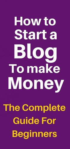 This is a step by step and easy to follow guide that will help you setup your own blog from the start http://checkhere.info/MakeMoneyBlogging