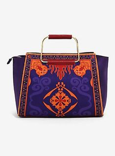 Her Universe Destination Disney Aladdin Magic Carpet Handbag,