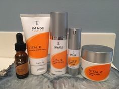 I used the Image Vital C line for 6 weeks after receiving microdermabrasion. Check out my personal review and results! #image #vitalc #skincare