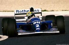 AYRTON SENNA, Ayrton Senna da Silva (BRA) Williams FW16 Renault