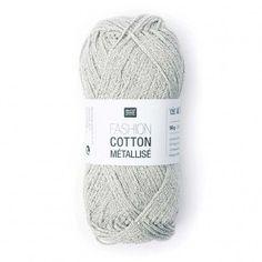 Rico Fashion Cotton Métallisé 50g - Wolle Rödel Online-Shop