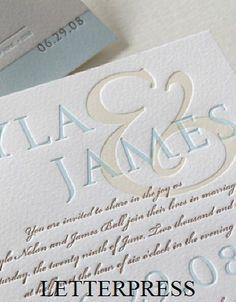Close Up of Letterpress printing