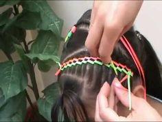 CHAQUIRAS EN ESCALERA PARA NÑAS PASO A PASO(30 AG0) NUEVO Hair Beauty, Hair Styles, Toddler Hairstyles, Girls, Fashion, Hair Dos, Whoville Hair, Vestidos, Two Braid Hairstyles