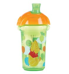 #Munchkin Winnie The Pooh Blue Click Lock Spill Proof #Cup 9oz - 2 Colours available online at http://www.babycity.co.uk/