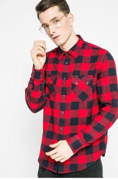 Koszule Z długim rękawem  - Lee - Koszula Rider