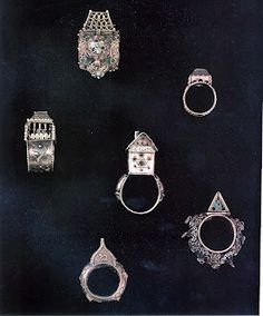 14th Century Jewish Wedding Rings and Objects of Matrimony  Marriage Casket, Ketubot, Mahzor images, Communal Wedding Rings, Treasure Troves from Plague Programs 1349-51, Synagogue Mikvah Architectual Fragments, Double Kiddush Cups