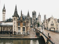 A room with a view. Ghent, Belgium.