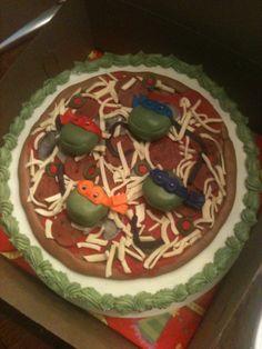 Turtle Cakes Ninja Turtle Cakes And Ninja Turtles On