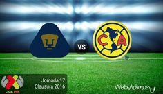 Pumas vs América, Clásico Capitalino ¡En vivo por internet! | Clausura 2016 - https://webadictos.com/2016/05/07/pumas-vs-america-clasico-clausura-2016/?utm_source=PN&utm_medium=Pinterest&utm_campaign=PN%2Bposts