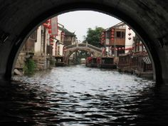 """Suzhou, China: China's version of Venice: Suzhou is a major city located in the southeast of Jiangsu Province in Eastern China. Within the city of Suzhou, there are areas featuring canals. """"Both eight hundred-year-old Pingjiang Road (平江路) and twelve hundred-year-old Shantang Road (山塘街) made it to the list of China's """"famous history and culture streets"""", and both feature elegant bridges, flowing waters and unique architecture."""""""
