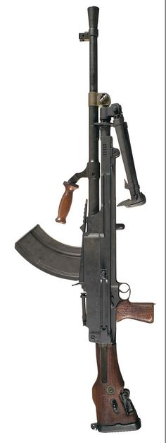 The Bren Gun, usually called simply the Bren, was a series of light machine guns made by Britain in the 1930s and used in various roles until 1992. Best known for its role as the British and Commonwealth forces' primary infantry light machine gun (LMG) in World War II,