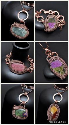 January 2018 so far! Wire wrap jewelry. Nicole Hanna Jewelry signature collection