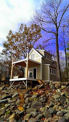 This Two Story, One Bedroom Charmer Built On Butler Island Incorporates The  Beauty Of Tiny