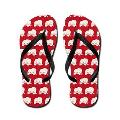 Republican Party Flip Flops, for sloshing through puddles if the #hurricane comes. #tampa #gop2012