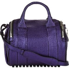 Alexander Wang Wang Rockie Purple Bag - Satchel. Save 22% on the Alexander Wang Wang Rockie Purple Bag - Satchel! This satchel is a top 10 member favorite on Tradesy. See how much you can save