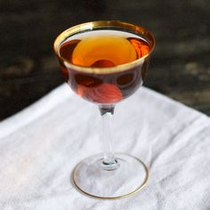 Another Fine Mes Cocktail | .5 tsp Maple syrup 2 oz Michter's Single Barrel Rye Whiskey 1 oz Don Julio Reposado Tequila .5 oz Combier Liqueur d'Orange		 .5 oz Punt e Mes 2 dashes Fee Brothers Old Fashion Bitters 2 dashes Regan's Orange Bitters No. 6