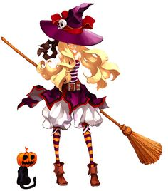 witch.quenalbertini: Halloween by enpitsu00 on DeviantArt