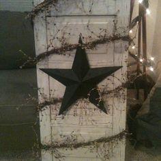 Old cupboard door!