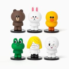 Line Friends Mini SD Friends Figure Set 6 LIMITED Edition #LineFriends  URL : http://amzn.to/2mOD07b Discount Code :  QP4BKMDQ