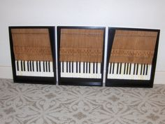 Repurposed Piano Wall Art by RonBakerFurniture on Etsy