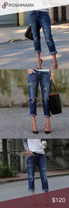 🔥Hot Sale🔥Current/Elliott boyfriend jeans Current/Elliott The Fling Bennet Destroyed boyfriend amazing jeans.size 29 ( 8 ) Current/Elliott Jeans Boyfriend