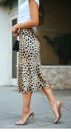 237a12b721 My kind of leo skirt. Leopard Skirt OutfitStreet ...